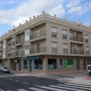Edificio Palacio La mota en Santomera