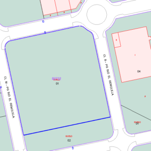 Parcela URB. Manzana 14 16790 m2 (Adj. 16)