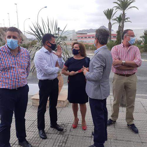 Inaugurada nueva rotonda del Polígono Industrial El Semolilla de Abanilla 5