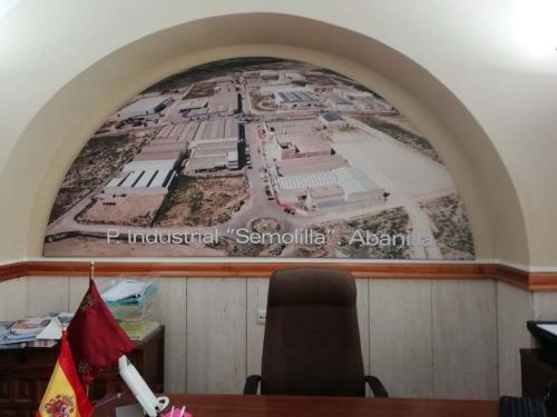 Poligono Industrial de Abanilla El Semolilla en el Ayuntamiento de Abanilla